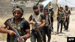 Бойцы шиитского ополчения