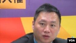 六四事件学生领袖王丹(美国之音 张佩芝)