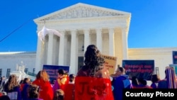 FILE - Native women rallied at the U.S. Supreme Court on December 7, 2015, to call attention to high rates of violence in Indian Country. Photo by Indianz.Com