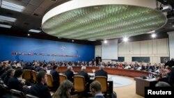 Нарада міністрів закордонних справ країн НАТО у Брюсселі