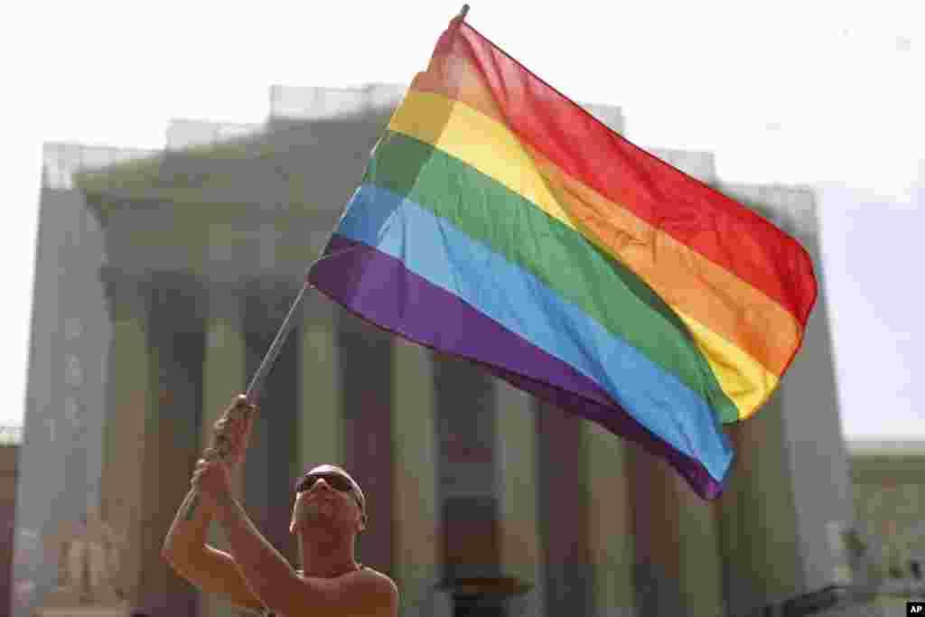 ԱՄՆ-ի Գերագույն դատարանը որոշում է կայացրել համասեռականների ամուսնության վերաբերյալ
