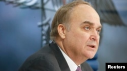 Đại sứ Nga tại Mỹ Anatoly Antonov.