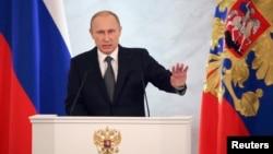Президент России Владимир Путин (архивное фото)