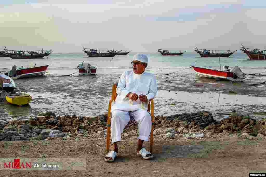جزیره شیف جزیرهای است ماسهای در شمال بندر بوشهر و اکثر ساکنانش صیاد هستند. عکس: علی جهان آرا