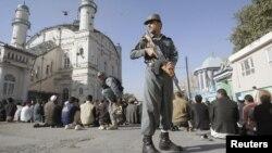 افغان پولیس اہل کار(فائل)