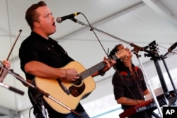 Jason Isbell performs at the 54th edition of the Newport Folk Festival in Newport, Rhode Island, July 27, 2013.