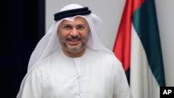 안와르 가르가쉬 아랍에미리트 외무부 장관.