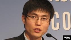 미국 인권단체 'LiNK(링크)'가 탈북난민주간에서 변화를 주도하는 탈북자 중 한 명으로 소개한 신동혁 씨. (자료사진)