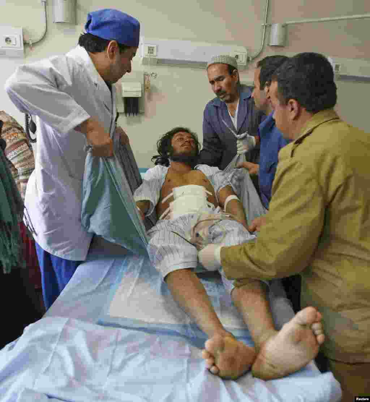 Paktika vilayətinin Yəhya Xəl mahalında voleybol matçı zamanı intiharçı hücumu həyata keçirilib - 24 noyabr, 2014