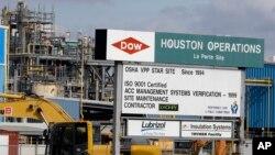 Dow Chemical en La Porte, Texas, se fusionaría con DuPont en un acuerdo valorado en 130.000 millones de dólares.