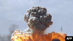 İkinci Dalga Saldırıda Kaddafi'nin Karargahı Vuruldu