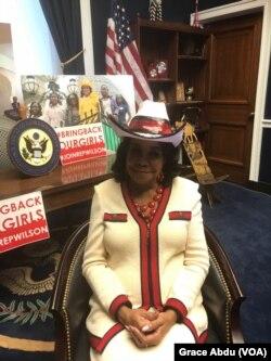 Congress Woman Frederica Wilson