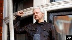 Ông Julian Assange, người sáng lập WikiLeaks.