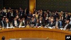 Thành viên Hội đồng Bảo An tại trụ sở Liên hiệp quốc ở New York