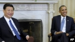 Shugaba Barack Obama da shugaban kasar Sin Xi Jinping