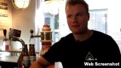 Ông Thomas Gesink thuộc nhà máy bia De Prael.