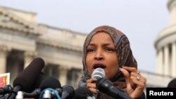 Ilhan Omar Nûnera-Minnesota ji partiya Demokrat