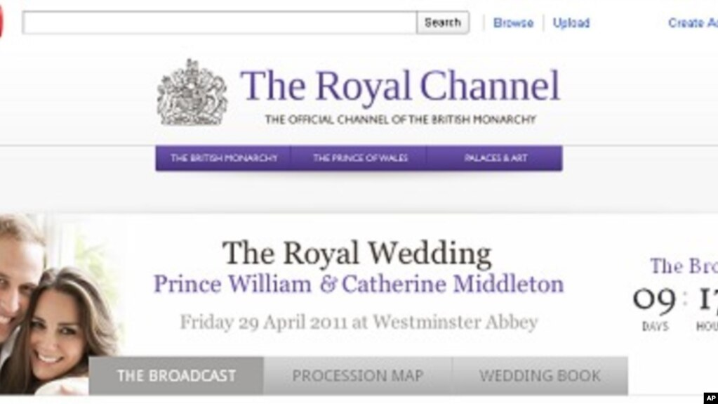 Royal Wedding Youtube.Youtube To Air Britain S Royal Wedding Live
