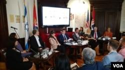 Svečanost povodom obeležavanja 100 godina srpsko-američkih odnosa i godišnjica odnosa Srba i Jevreja