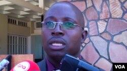 Secretário provincial da UNITA, Januario Alfredo Mussambo