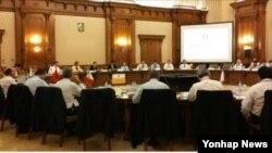북한인권국제의원연맹 11차 연차 총회 모습