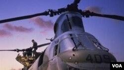 El helicóptero formaba parte de una flotilla comprada recientemente por el gobierno.