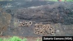 La décharge publique de Conakry (VOA/Zakaria Camara)