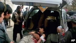 Suicide Attack at an Afghan Market