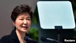 韩国总统朴槿惠。(资料照)