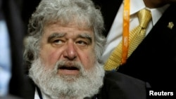 FILE - FIFA executive member Chuck Blazer attends the 61st FIFA congress at the Hallenstadion in Zurich, June 1, 2011.
