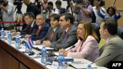 La delegación cubana llega con propuestas concretas a Washington.