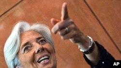 Em frente! Christine Lagarde aponta o caminho que quer seguir.
