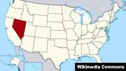 Նևադա նահանգը՝ ԱՄՆ-ի քարեզի վրա