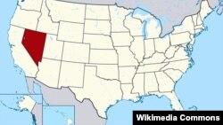 Штат Невада, США (отмечен на карте красным цветом)