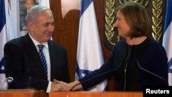 Биньямин Нетаньяху и Цири Ливни