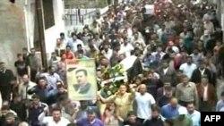Sahrana demonstranata koji su ubijeni u sukobima u Homsu