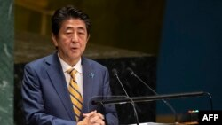 Premijer Japana Šinzo Abe, Foto: Ilustracija, (Photo by Don Emmert / AFP)