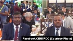 Ronsard Malonda, Secrétaire technique national exécutif de la CENI, choisi par certains groupes religieux pour diriger la centrale électorale, ici le 4 septembre 2018. (Facebook/CENI RDC)