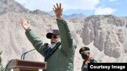 Thủ tướng Ấn Độ Narendra Modi trong chuyến thăm hôm 3/7.