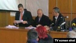 Prebrojavanje glasova za predsednika Skupštine opštine Nikšić
