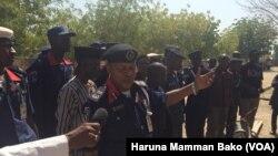 Le chef du Corps nigérian de défense et de sécurité civile (NSCDC) à Borno, Nigeria, 19 janvier 2017.
