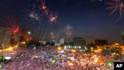 Египет, Каир, площадь Тахрир. 2 июля 2013г.