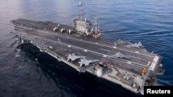 El Pentágono ya anunció este mes que no enviará el portaaviones Harry S. Truman a la zona del Golfo Pérsico.