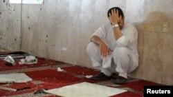 دسعودي عرب دسرکاري ټيلي ويژن ترمخه چاؤدنه هاغه وخت وشوه کله چې په ابها کې دامنيتي ځواکونو له لوري کارول کيدونکي جومات کې خلکو نمونځ ادا کول