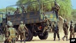 Pasukan Kenya berhasil menghancurkan kubu pertahanan al-Shabab di Kismayo (foto: dok).