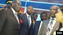 Presidents Mugabe loMongameli Gnassingbe.