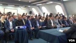 Sastanak predstavnika Srba sa upravljačkim timom za izradu statuta ZSO