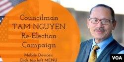 Nghị viên Khu vực 7 Tâm Nguyễn. (Ảnh: FB Tam Nguyen)