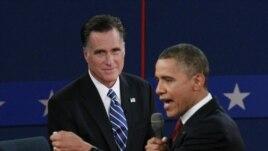 President Barack Obama na bulamatari Mitt Romney, igihe c'impari za politike zigira kabiri