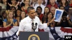 Обама защищает законопроект о занятости